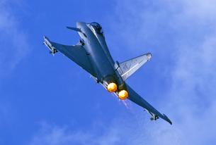 ユーロファイター・タイフーン戦闘機の写真素材 [FYI03849014]