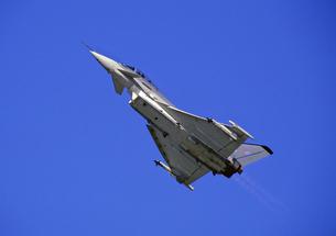 ユーロファイター・タイフーン戦闘機の写真素材 [FYI03849016]