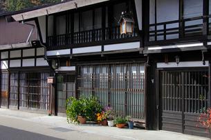 奈良井宿の民家の写真素材 [FYI03849017]