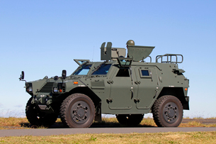 航空自衛隊軽装甲機動車の写真素材 [FYI03849044]