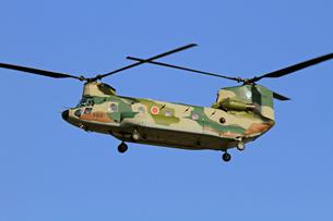 航空自衛隊CH-47ヘリコプターの写真素材 [FYI03849050]