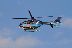 埼玉県警ヘリコプターさきたまの写真素材 [FYI03849054]