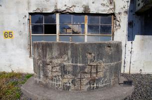 戦争の傷跡の残る建物 旧日立航空機変電所 の写真素材 [FYI03849227]