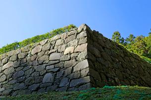 八王子城跡 石垣の写真素材 [FYI03849339]