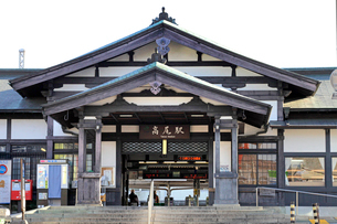 中央本線高尾駅の写真素材 [FYI03849348]