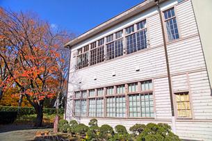 旧府中町立尋常高等小学校校舎の写真素材 [FYI03849359]