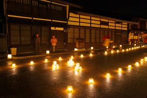 奈良井宿アイスキャンドル祭の写真素材 [FYI03849510]