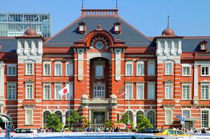 東京駅丸の内駅舎の写真素材 [FYI03849513]