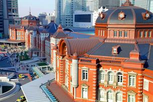 東京駅丸の内駅舎の写真素材 [FYI03849515]