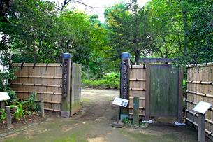 哲学堂公園 常識門の写真素材 [FYI03849683]