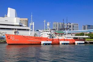 船の科学館 南極観測船宗谷の写真素材 [FYI03849721]