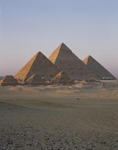 ピラミッド エジプトの写真素材 [FYI03849747]