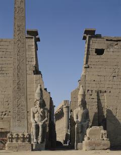 ルクソール神殿  エジプトの写真素材 [FYI03849751]