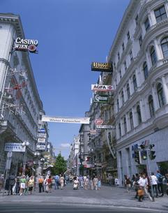 ウィーンの中心地・ケルトナー通り オーストリアの写真素材 [FYI03850480]