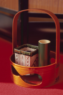 竹の花器の写真素材 [FYI03850765]