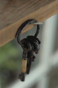 古い鍵の写真素材 [FYI03850781]
