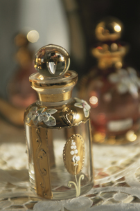 香水のビンの写真素材 [FYI03850805]