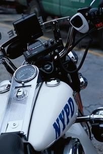 ニューヨーク市警(NYPD)のバイク ニューヨーク アメリカの写真素材 [FYI03851705]