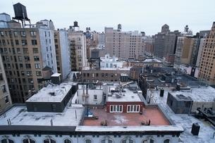 ビルから見た景色 ニューヨーク アメリカの写真素材 [FYI03851709]