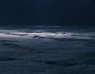 冬の日本海 鹿の浦 八森町の写真素材 [FYI03851944]