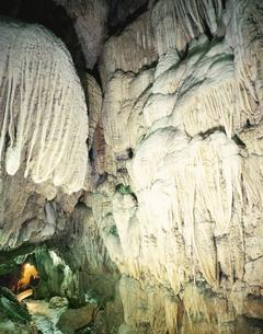 沖永良部島の昇竜洞 鹿児島の写真素材 [FYI03851957]