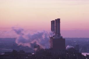 原子力発電所 NY アメリカの写真素材 [FYI03852390]