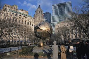 9月11日のメモリアルのモニュメント ニューヨーク アメリカの写真素材 [FYI03852466]
