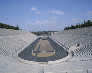 第1回オリンピック開催地のアテネ競技場 ギリシャの写真素材 [FYI03852866]