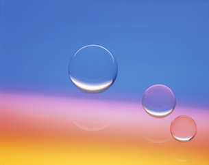 球体と光の写真素材 [FYI03853170]