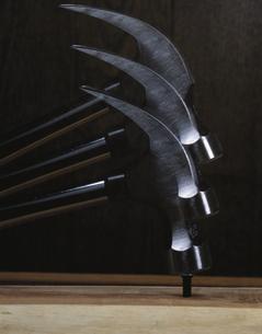 工具(金づち・釘)の写真素材 [FYI03853202]