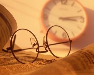 眼鏡の写真素材 [FYI03853206]