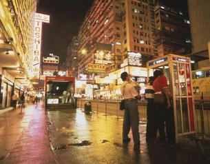 九龍の夜景 香港 中国の写真素材 [FYI03853247]