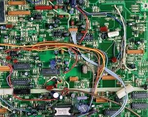 ビデオの回路の写真素材 [FYI03853295]
