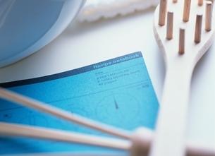 レシピと調理道具の写真素材 [FYI03854135]