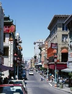 チャイナタウン   サンフランシスコ アメリカの写真素材 [FYI03854173]