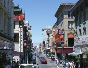 チャイナタウン   サンフランシスコ アメリカの写真素材 [FYI03854174]