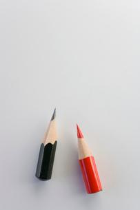 小さくなった鉛筆の写真素材 [FYI03855454]