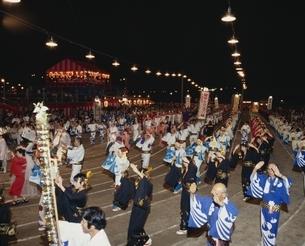 鶴崎盆踊り 大分県の写真素材 [FYI03855567]