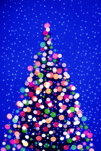 クリスマスツリーのイラスト素材 [FYI03855756]