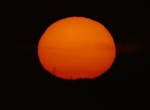 太陽の写真素材 [FYI03855988]
