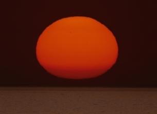 太陽の写真素材 [FYI03855991]