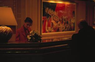 ホテルのフロントの写真素材 [FYI03856502]