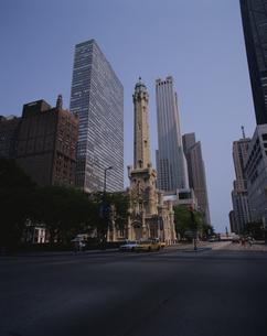 ビル群 シカゴ アメリカの写真素材 [FYI03856655]