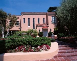ビバリーヒルズの高級住宅  ロサンゼルス アメリカの写真素材 [FYI03856751]