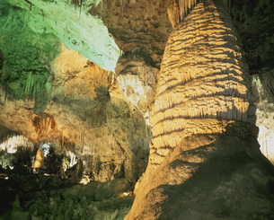 カールスバット洞穴  ニューメキシコ州 アメリカの写真素材 [FYI03856752]