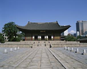 徳寿宮・中和殿 ソウル 韓国の写真素材 [FYI03856959]