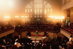ハーレムの教会   NY アメリカの写真素材 [FYI03857396]