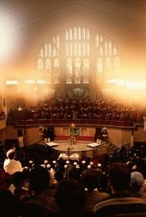 ハーレムの教会のミサの風景 ニューヨーク アメリカの写真素材 [FYI03857399]