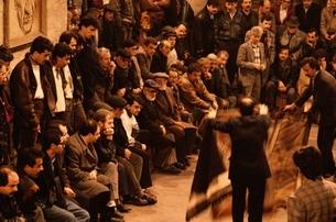 ジュータン・オークション イスタンブール トルコの写真素材 [FYI03857404]
