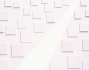 道と正方形のビルの写真素材 [FYI03857684]